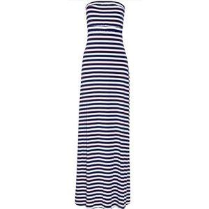 Tart Janene Maxi Strapless Dress w/ Cutout Back XS